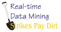 Real-time Data Mining Strikes Pay Dirt