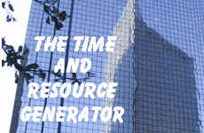The Time and Resource Generator