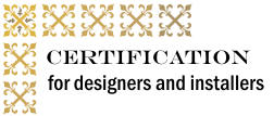 Certification for Designers and Installers