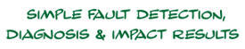 Simple Fault Detection Diagnosis & Impact Results