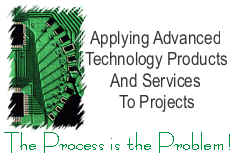 Applying Advanced Technology Products and Services to Projects  The Process is the Problem!